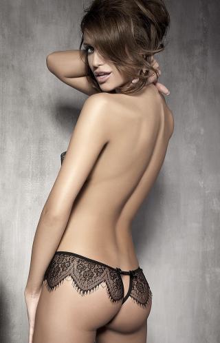 Kalhotky Anais Abbigail panty L černá