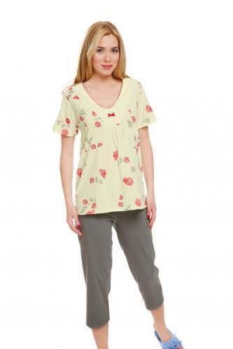 Bavlněné dámské pyžamo Anděla L