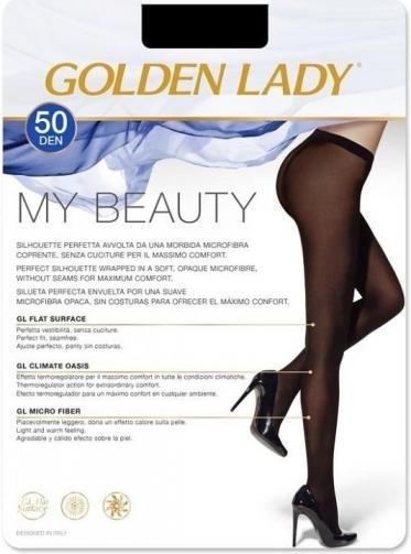 Punčochové kalhoty Golden Lady My Beauty 50 DEN 3-M černá