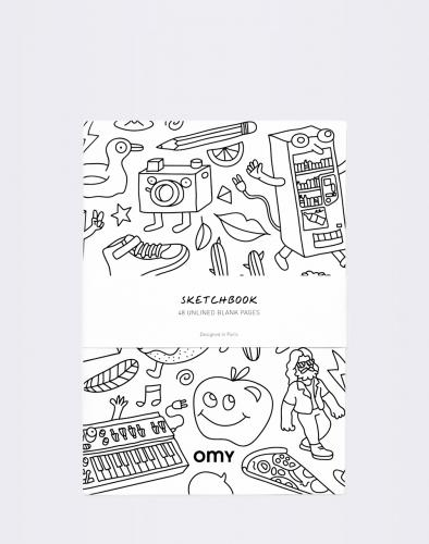Hry OMY Large Sketch Book