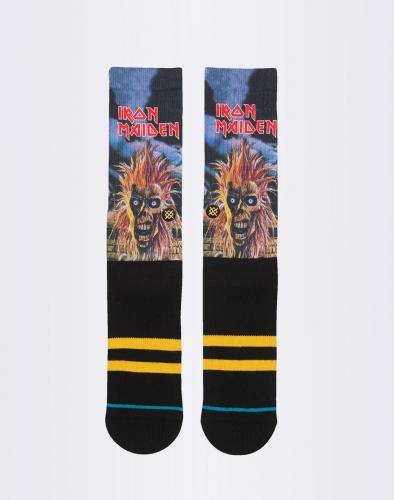 Ponožky Stance Iron Maiden Black