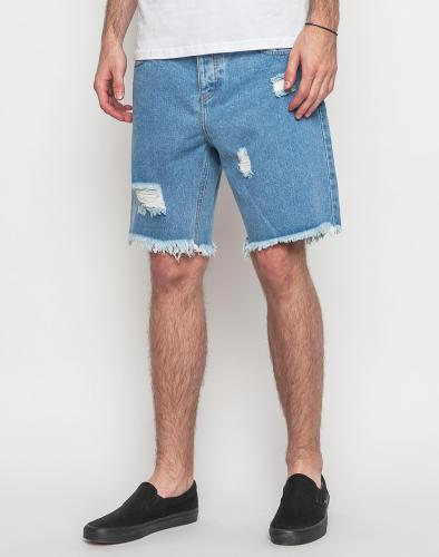 Kraťasy Afends Cut Off Denim Stone Blue
