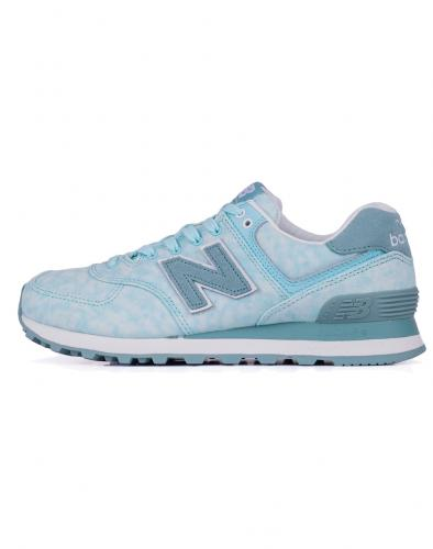 Sneakers - tenisky New Balance WL574 Ozone Blue with Storm Blue & Teal