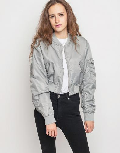 Bomber Cheap Monday Bling Grey