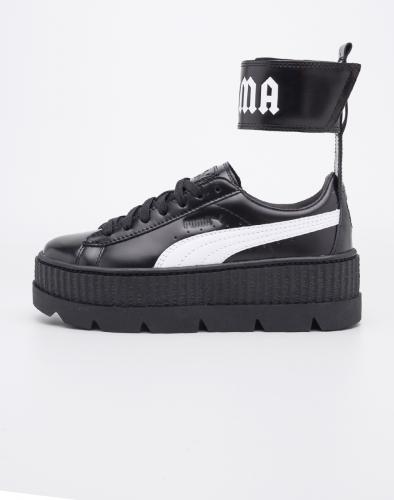Sneakers - tenisky Puma Fenty Ankle Strap Creeper Black