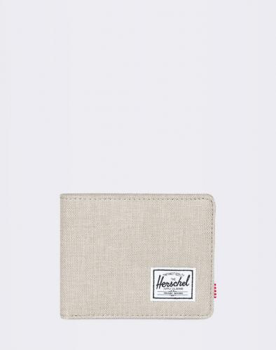 Peněženka Herschel Supply Roy RFID Light Khaki Crosshatch