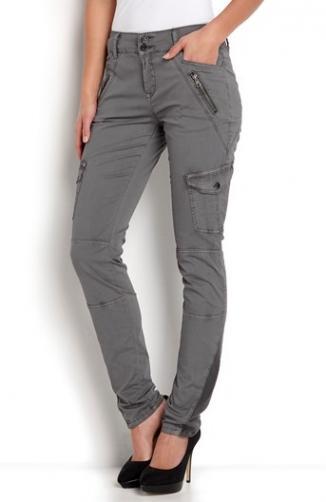 Kalhoty Tanita / šedá