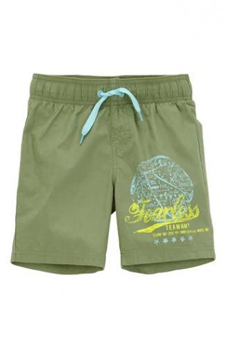 Šortkové plavky Zak / zelená