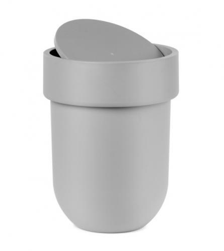 Koš na odpadky s víkem Umbra TOUCH - šedý