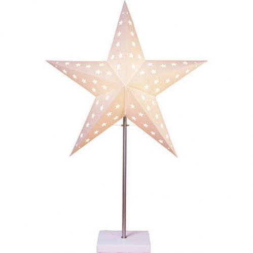 Dekorativní stolní lampa STAR TRADING Star - bílá