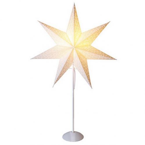 Dekorativní stolní lampička STAR TRADING Dot Star - bílá