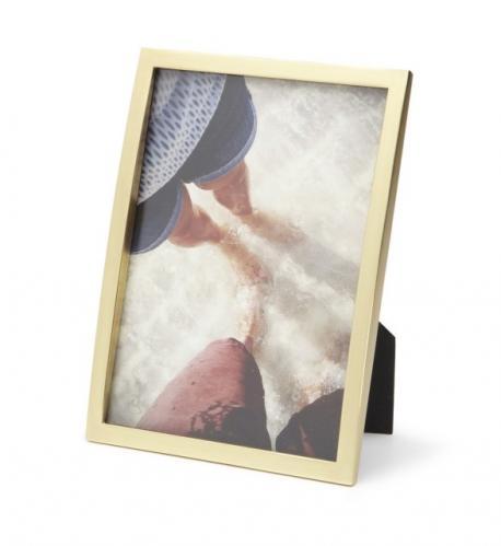 Fotorámeček 13x18 cm Umbra SENZA - zlatý