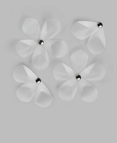 Dekorace na zeď Umbra AERIAL FLOWER - čirá