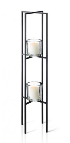 Stojací svícen na 2 svíčky Blomus NERO