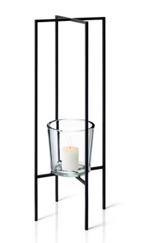 Stojací svícen na 1 svíčku Blomus NERO