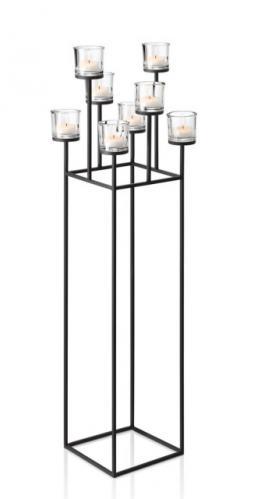 Stojací svícen na 8 svíček Blomus NERO
