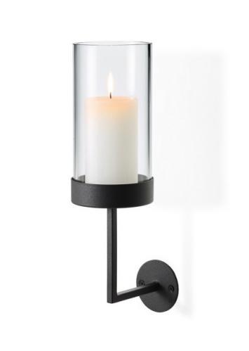 Nástěnný kruhový svícen Blomus NERO, malý