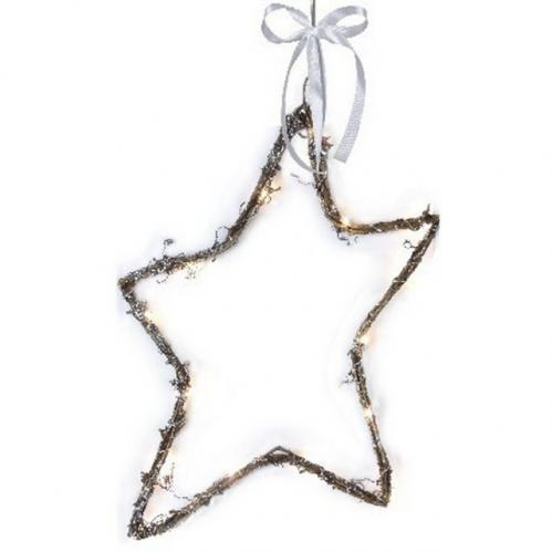 Dekorační hvězda STAR TRADING Willow Star