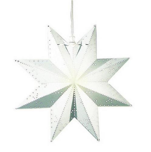 Dekorační hvězda na zavěšení  STAR TRADING Classic