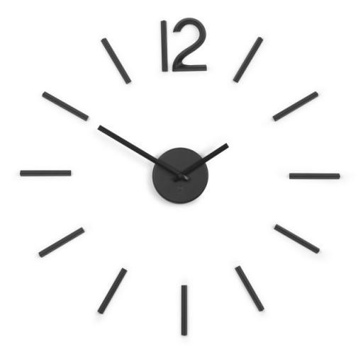 Nástěnné hodiny Umbra BLINK - černé