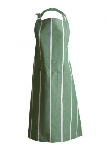 Zástěra s laclem 70x90 cm LINUM Rufus - zelená