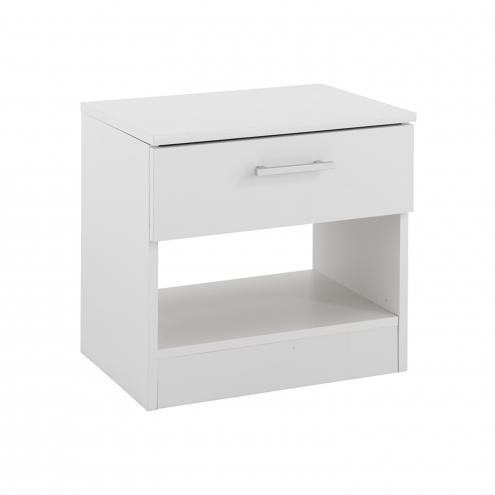 Noční stolek VANITY bílý