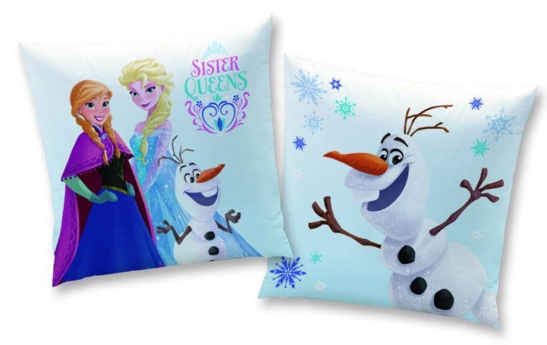 CTI Polštářek Frozen Sister queens (Ledové království) 40x40 cm