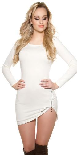 Koucla Úpletové mini šaty