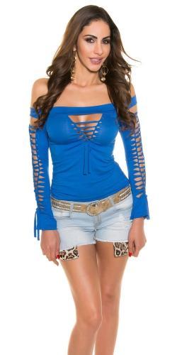 Koucla Modré sexy tričko