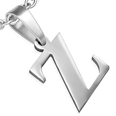 DAMSON Přívěsek z oceli -písmeno Z