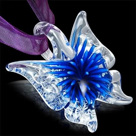 DAMSON Dívčí náhrdelník Butterfly
