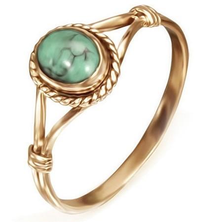 DAMSON Dámský bronzový prsten