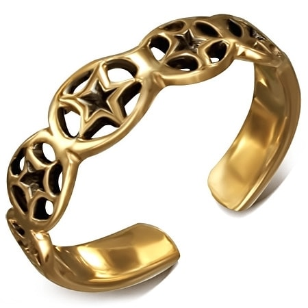 DAMSON Bronzový prsten na nohu