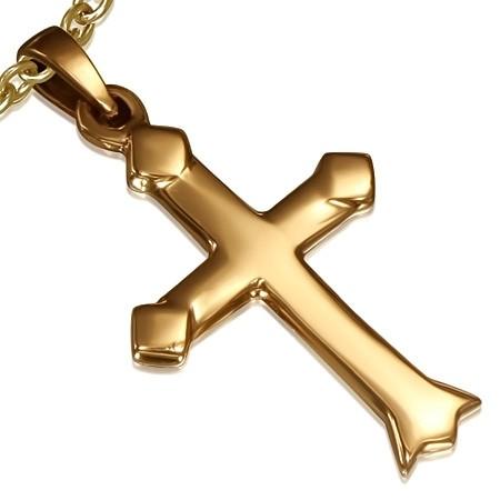 DAMSON Bronzový přívěsek - kříž