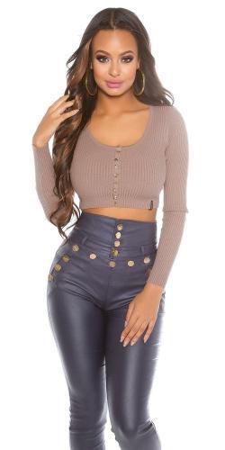 Koucla Krátký dámský svetr