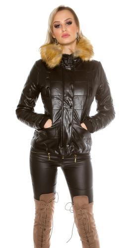 Koucla Krátká zimní dámská bunda