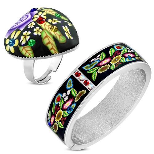 DAMSON Dámský náramek + prsten