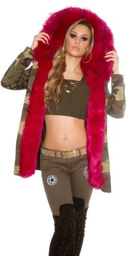 Koucla Zimní dámská bunda parka