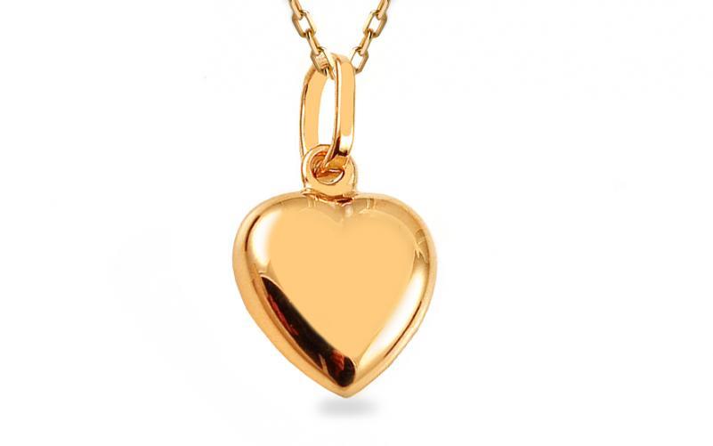 Dámský přívěsek srdce na Valentýna IZ3446