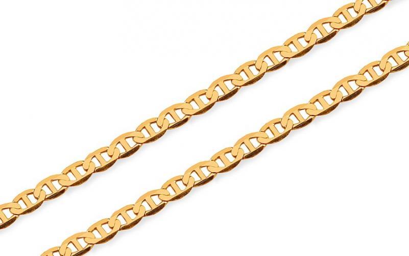 Dětský řetízek ve žlutém 14 karátovém zlatě IZ14050