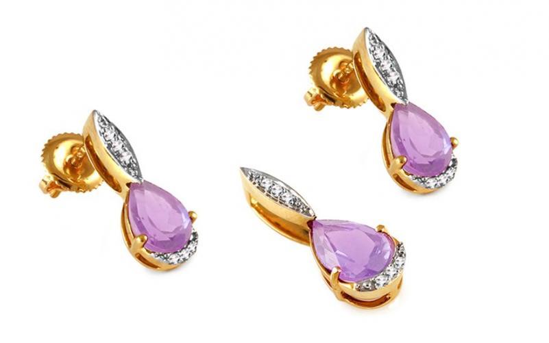 Diamantová souprava 0,070 ct Karis KU290S