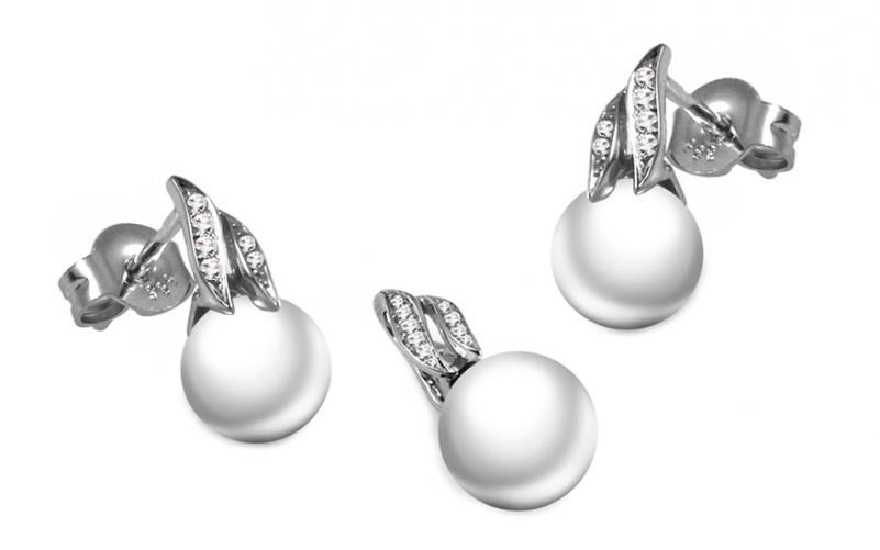 Diamantová souprava 0,090 ct Pearl Prezzie DB0032S