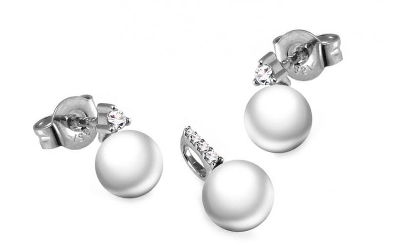Diamantová souprava 0,105 ct Deluxe Pearl DB0040S