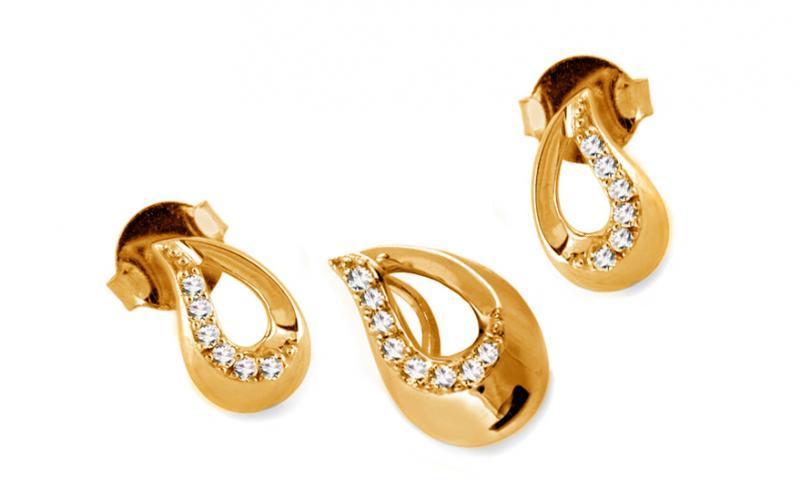 Diamantová souprava 0,170 ct Solezi KU281YS