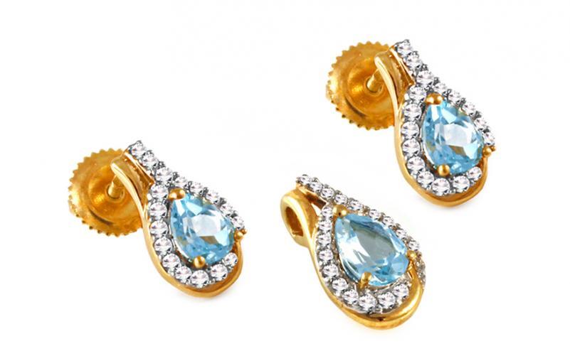 Diamantová souprava 0,260 ct Elois KU285S