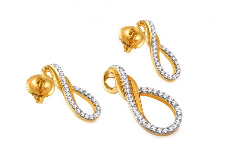 Diamantová souprava 0,310 ct Betias KU305S