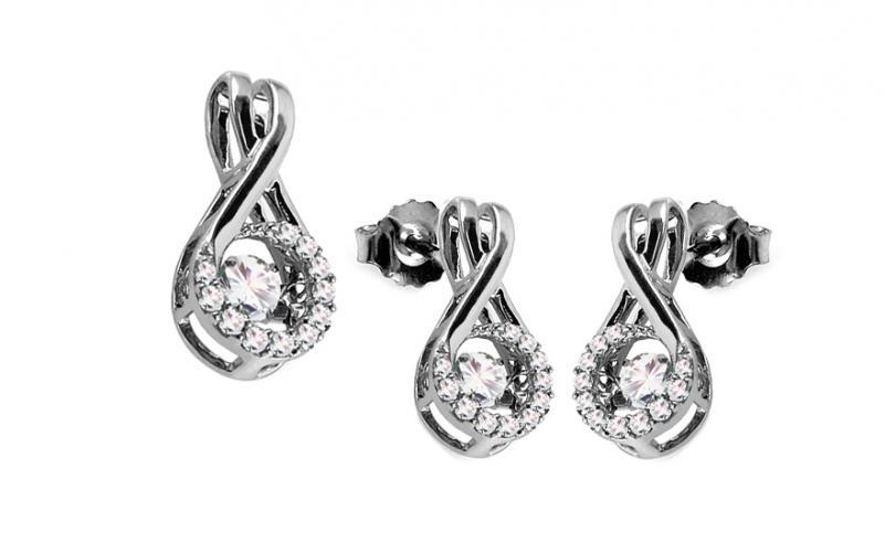 Diamantová souprava 0,560 ct Dancing Diamonds KU675S