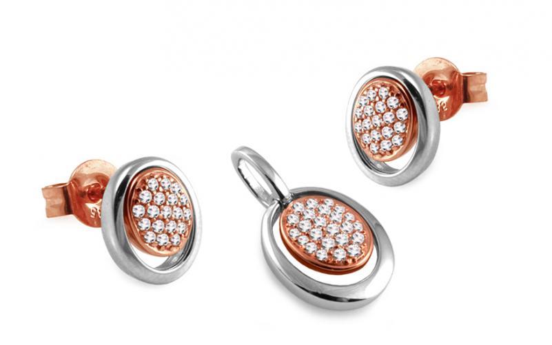 Diamantová souprava Deluxe 0,350 ct Spring DB0034S