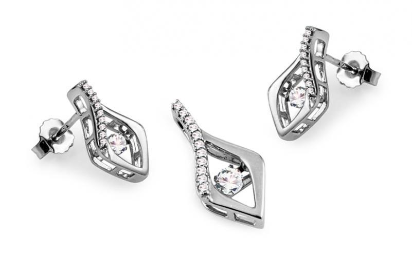 Diamantová souprava kolekce Dancing Diamonds KU560AS