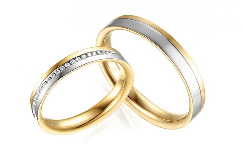 Diamantové snubní prstýnky 0,090 ct Yasmine diamonds 3 mm IZOBBR021AY